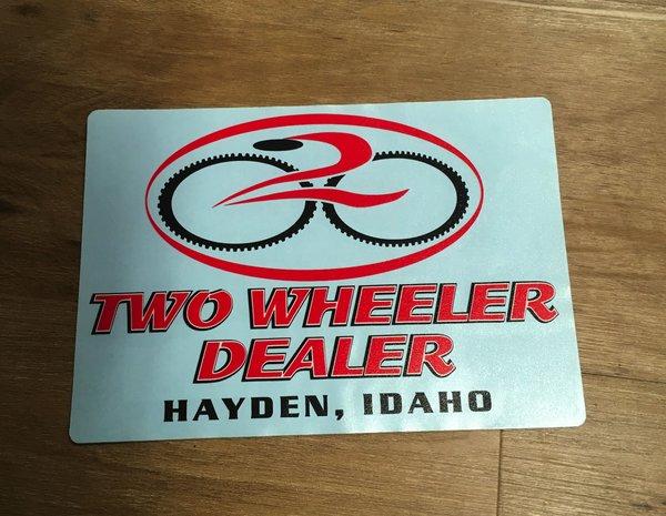 TWD Sticker
