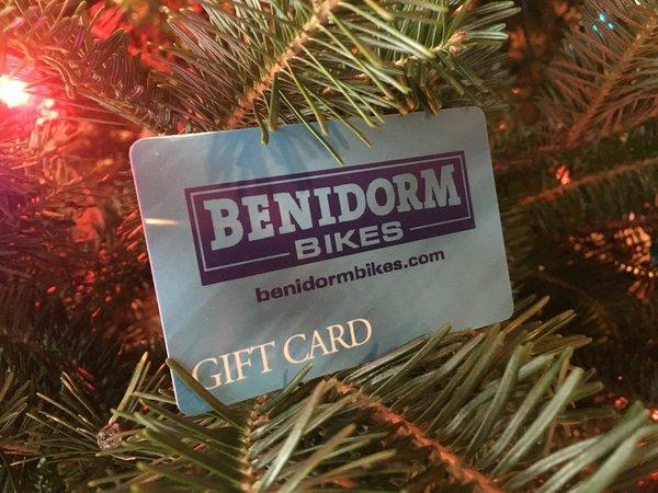 Benidorm Bikes $50 Gift Card