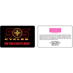 505 Cycles Gift Card