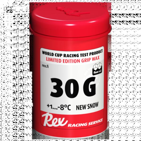 Rex 30G Grip Wax Additive (16F to 34F New Snow)