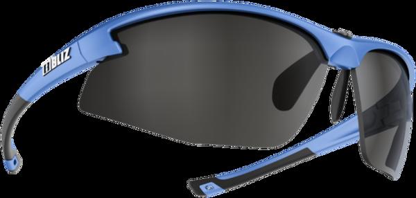 Bliz Optics Motion+, Metallic Blue Frame, Smoke with Silver Mirror Lens