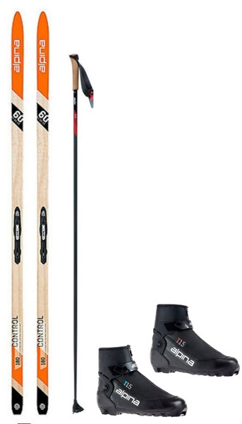 Deluxe Waxless Touring Package w/ Alpina Control 60 Ski
