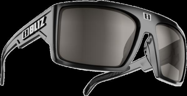 Bliz Optics Nitro Matte Rubber Blk w/Polarized Brn/Sil Cat 3