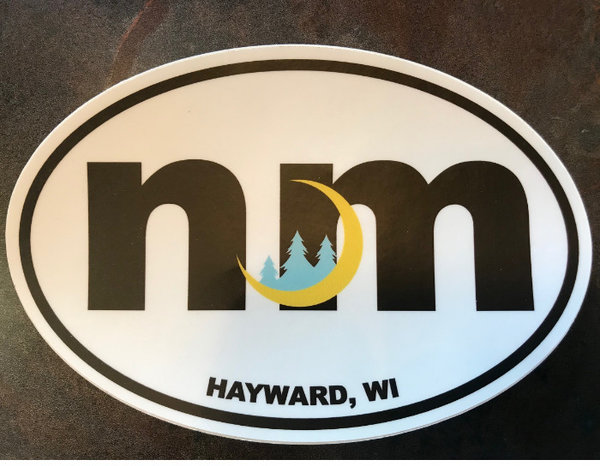 New Moon Bumper Sticker