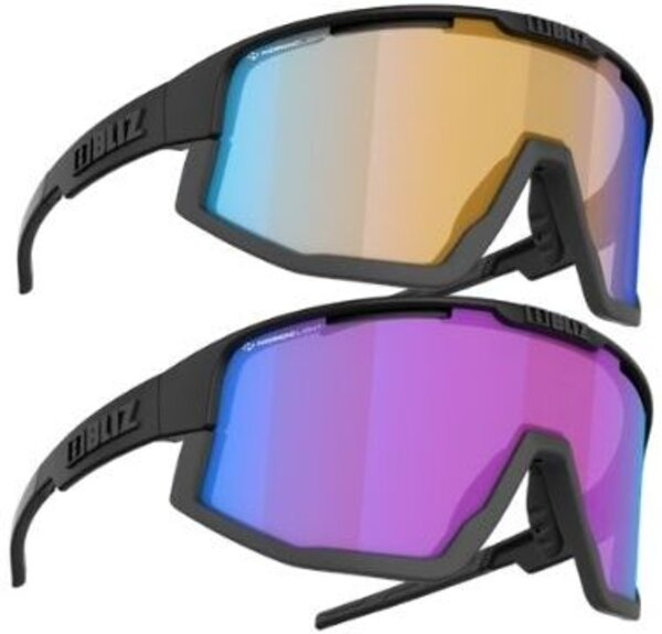 Bliz Optics Fusion Nano/Nordic Light Plus Free USST Lifestyle Sunglasses