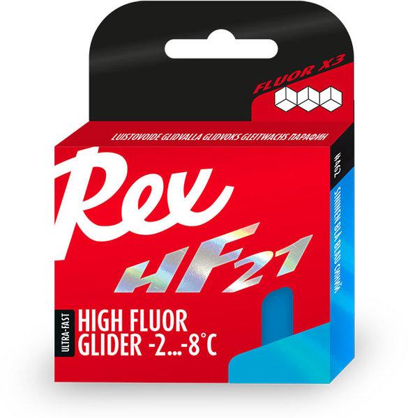 Rex HF 21 Blue Glide Wax 200gm (18F to 28F)