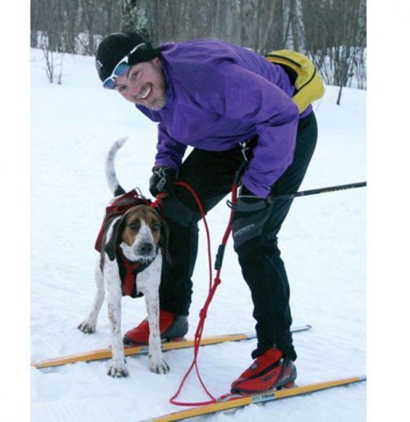 Nordkyn Skijoring Belt and Towline Kit