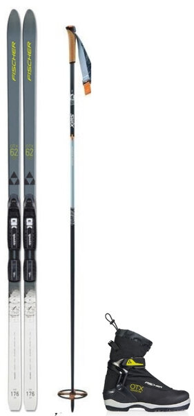 Light Backcountry Package w/ Fischer Spider Crown 62 Ski
