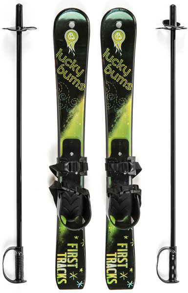 Lucky Bums First Tracks Starter Classic Ski - 70CM