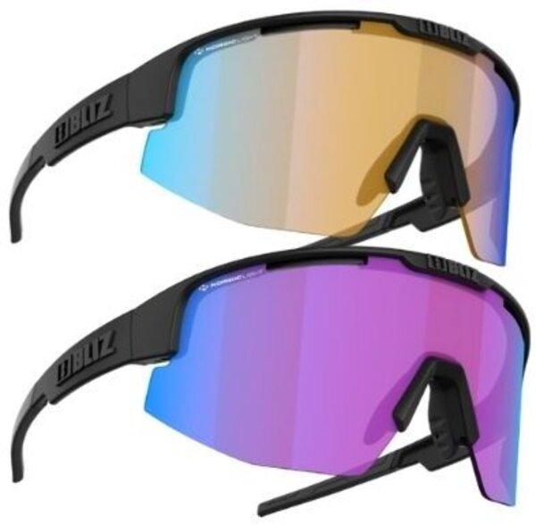 Bliz Optics Matrix Nano/Nordic Light Plus Free USST Lifestyle Sunglasses