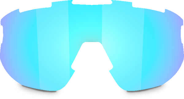 Bliz Optics Matrix Small Face - Smoke w/ Blue Multi Lens