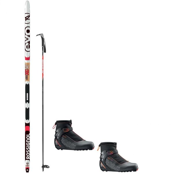 Deluxe Waxless Touring Package With Rossignol XC50 EVO Action