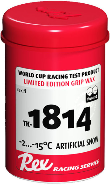 Rex TK-1814 Grip Wax (Artificial and Old Snow)