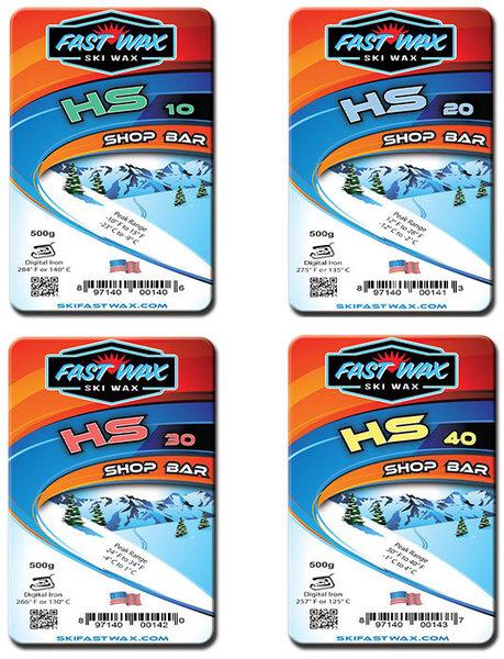 Fast Wax Non-Fluoro HS 500g