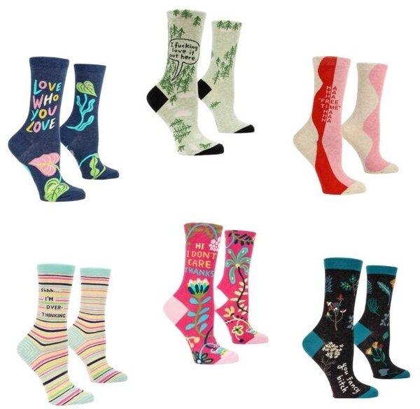 Blue Q Women's Crew Socks