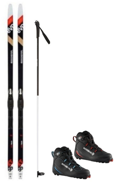 Deluxe Waxless Touring Package w/ Rossignol XT55 Ski
