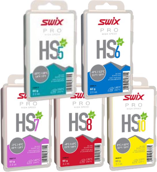 Swix HS Fluoro-Free Wax System 60g