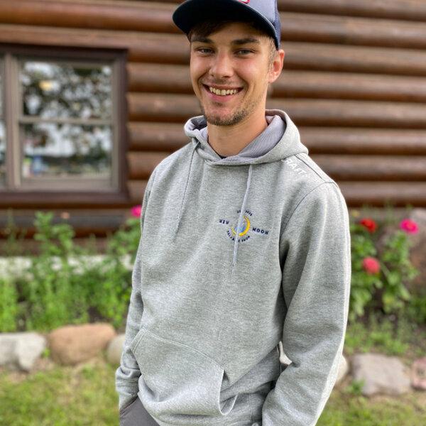 Craft New Moon Embroidered Men's Sweatshirt