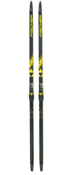 Fischer Twin Skin Carbon Classic Skis IFP 17/18