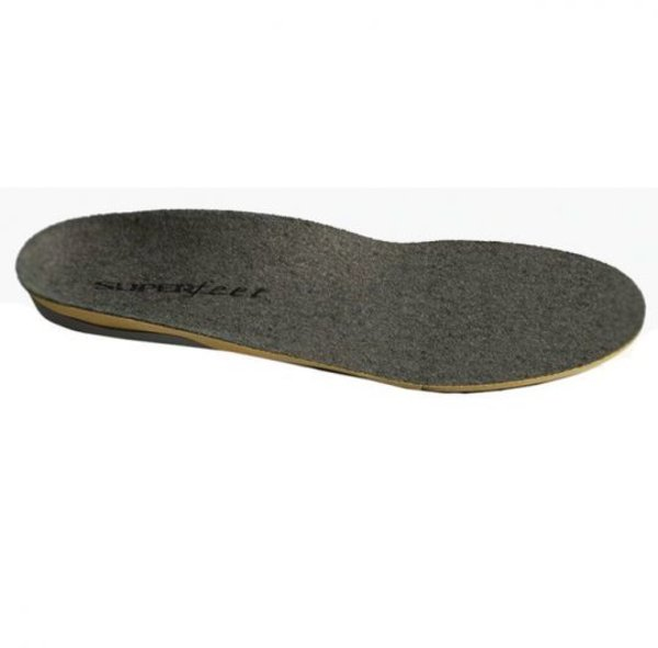 Superfeet Grey Merino Wool Insoles for Cold Weather