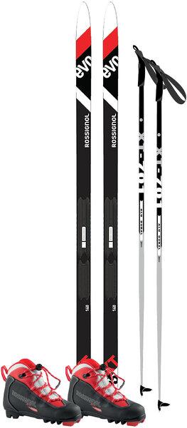 Junior Waxless Recreational Ski Package