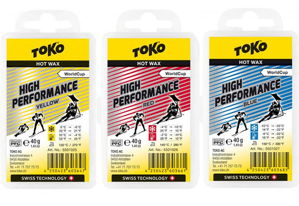 Toko High Performance Hot Wax 40gm