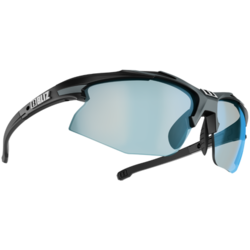 Bliz Optics Hybrid ULS Matte Blk/Gry w/Brn Blue Multi Photochromatic Lens