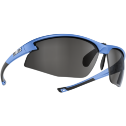 Bliz Optics Motion+, Metallic Blue Frame, Smoke with Silver Mirror Lens