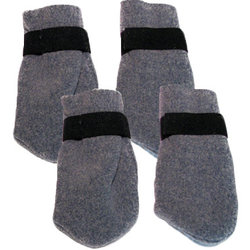 Nordkyn Fleece Skijoring Dog Booties