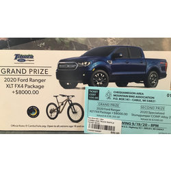 New Moon CAMBA Great Truck/Bike Raffle Ticket