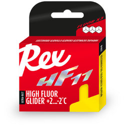 Rex HF 11 Yellow Glide Wax 40g (28F to 36F)