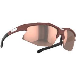 Bliz Optics Hybrid Small Face - Matte Wine Red, Brown With Rose Multi Lens