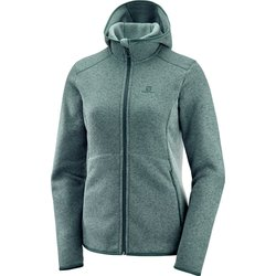 Salomon Women's Bise Hoodie - Green Gables