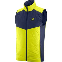 Salomon Drifter Mid Vest M -Citronelle/Night Sky