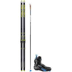 Fischer Speedmax Skate Racing Package w/ Salomon Boots & Swix Poles