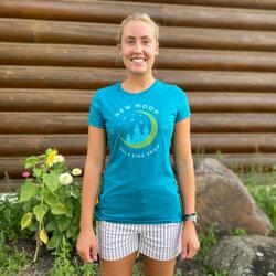 New Moon Women's Short Sleeve T - Heather Teal