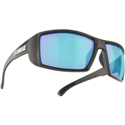 Bliz Optics Drift Sportsglasses- Matte Black/Brown w/Silver Mirror Lens-Polarized