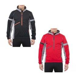 Swix Men's Nybo 1/2 Zip Hooded Jacket