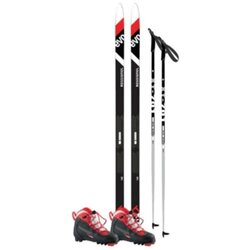 Junior Waxless Recreational Ski Package