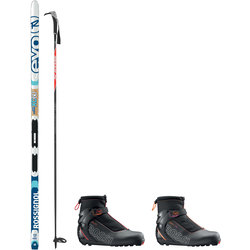 On or Off Trail Adventure Waxless with Rossignol XC60 EVO Tour Package