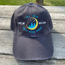New Moon Embroidered Baseball Cap