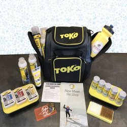 Toko Wax Gift Pack: Toko Wax Box & Kit - Includes Free Stonegrind!