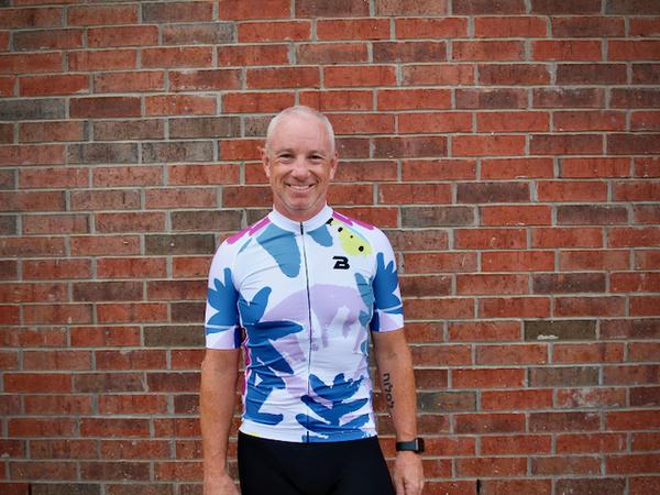 The Bike Lab OKC LTD Bike Lab Floral Men's Jersey by Alice Wolf