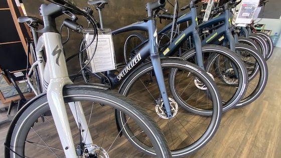 bike lab sales floor