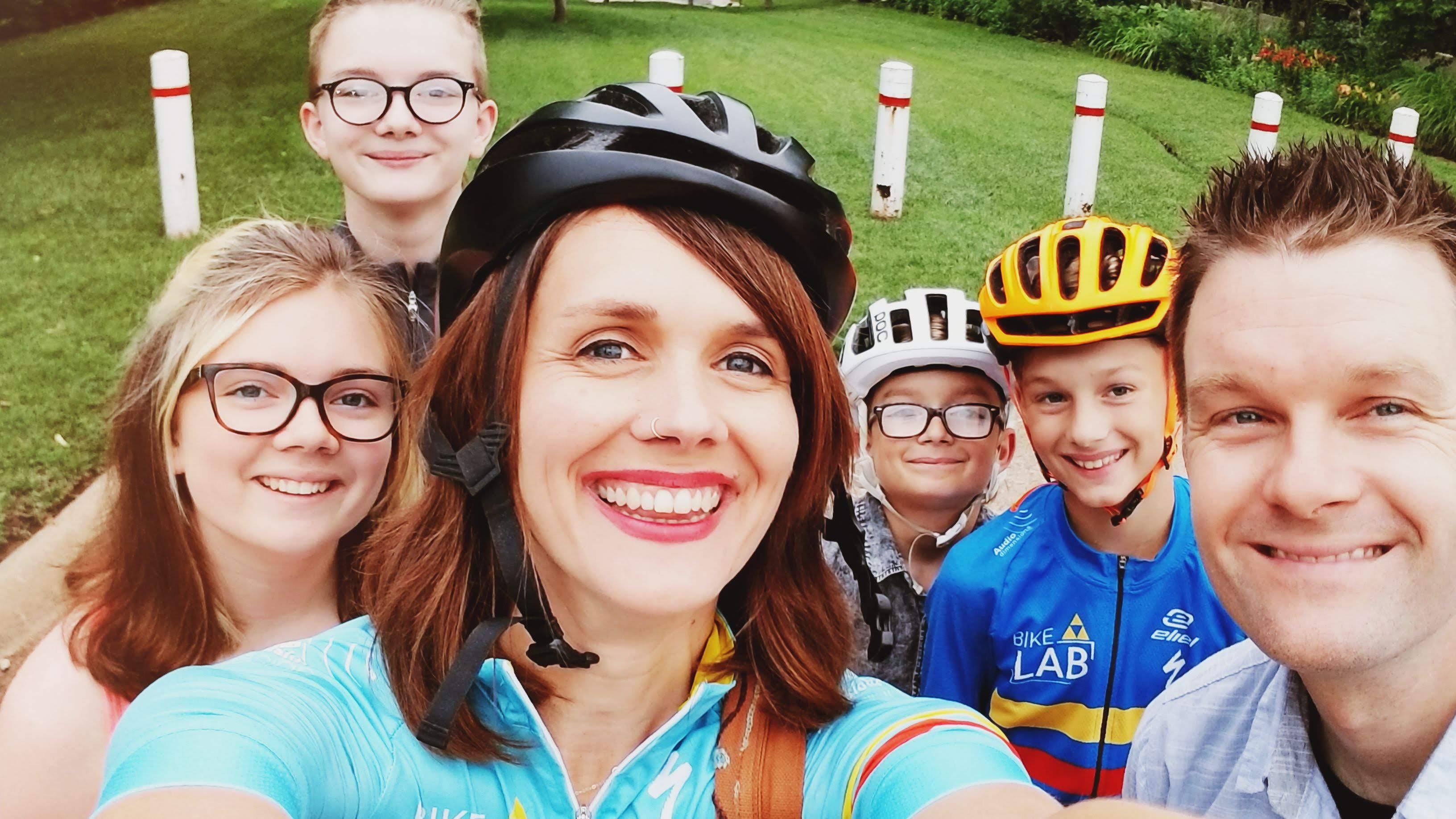 the bike lab team photo