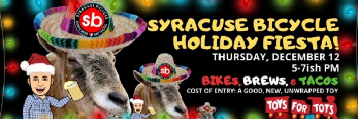 Syracuse Bicycle Holiday Fiesta
