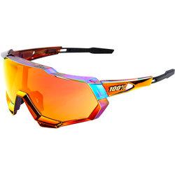 100% 100% Speedtrap Sunglasses, Sagan Chromium Red