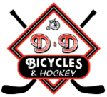 D&D Bicycles & Hockey Logo