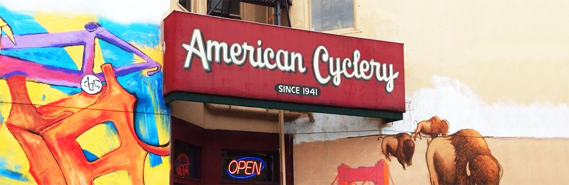 American Cyclery storefront