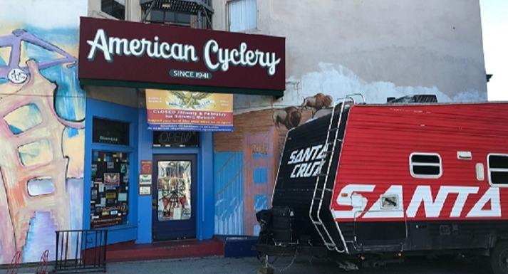 American Cyclery Closed for seismic retrofit until March 2020